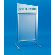 Standuri poster pendulare din aluminiu