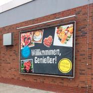 "Sistem rame banner otel ""Wall"" galvanizat"