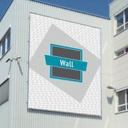 """Rame banner pentru sistem Slot aluminiu """"Wall"""""""