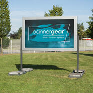 """bannergear® Stand """"Mobil LED"""", 2 fete"""