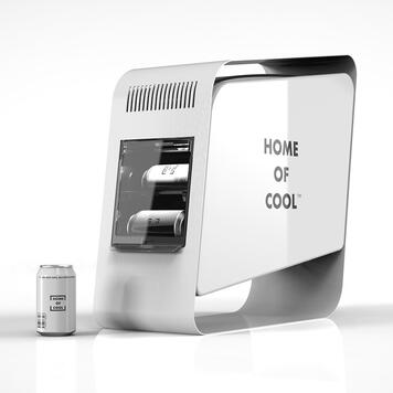 "POS Cooler ""Home of Cool"", vitrina frigorifica"