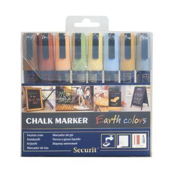 Set Marker creta Earth colors