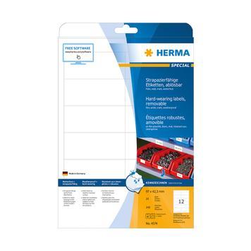 Etichete din folie rezistenta, Herma 4572