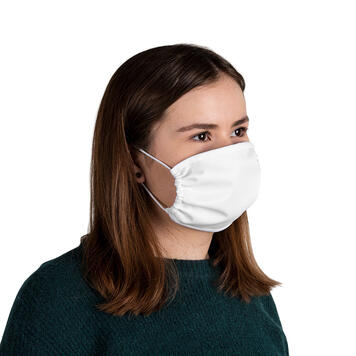 Masca pentru nas si gura 100% Poliester, 2 straturi