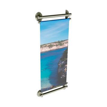"""Suport banner INOX """"Wall"""""""