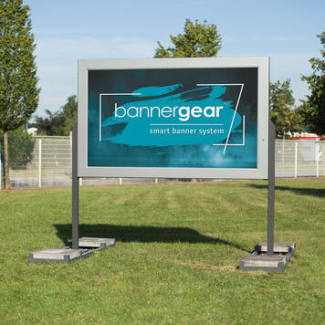 "bannergear® Stand ""Mobil LED"", 2 fete"