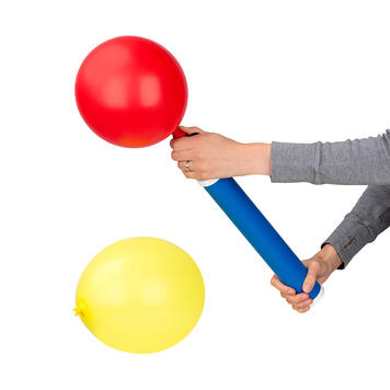 Pompă manuală pentru cantități mici de baloane