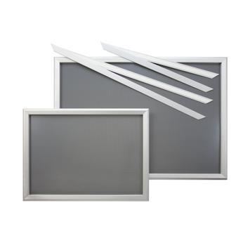 "Sistem rame fereastra ""Feko"", argintiu anodizat, colturii drepte"