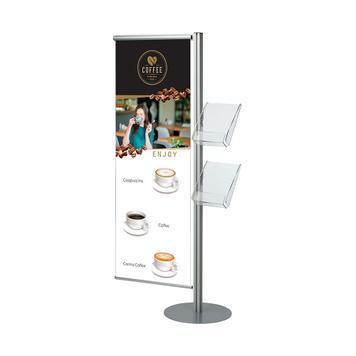"Banner pentru stand banner si pliante ""Snap Quattro"""