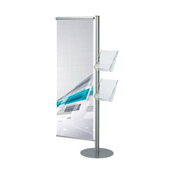 "Banner- si suport pentru pliante ""Snap-Quattro"""