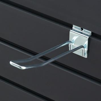 Carlig dublu pentru panou slatwall 100-300 mm