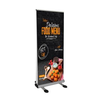 Banner printat digital pentru rollbanner Storm