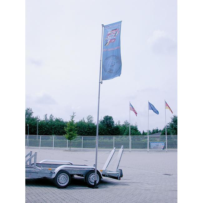 Steag pentru tub telescopic
