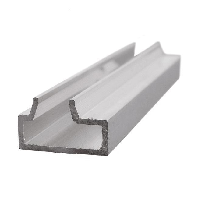 Profil pentru sistem panou slatwall aluminiu