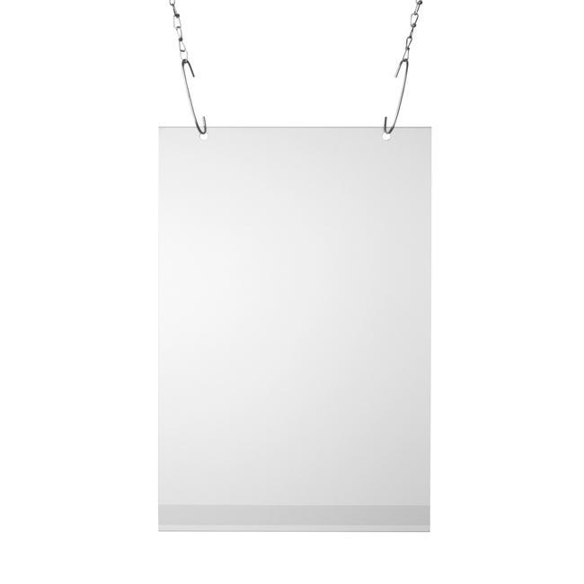 Buzunar poster cu perforatii