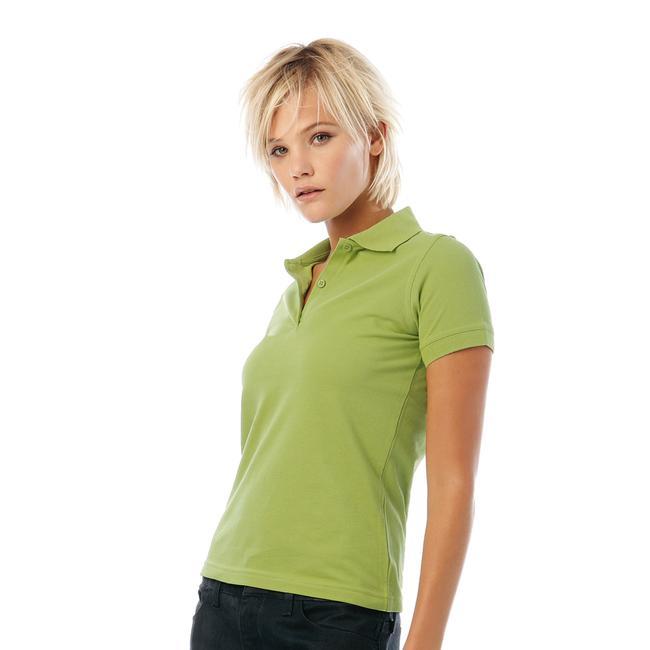 """Tricou polo pentru femei """"B&C Safran Pure ''"""