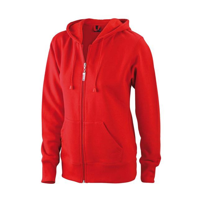 Jachetă cu glugă pentru femei James & Nicholson JN