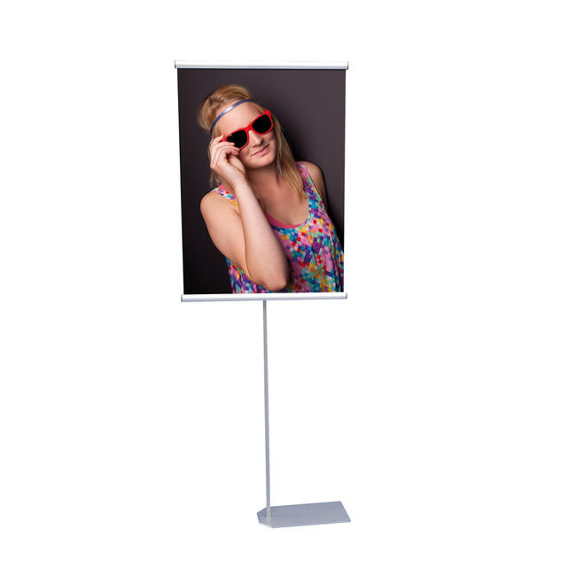 "Display poster si banner ""KN-P""-stand banner pentru paleti"