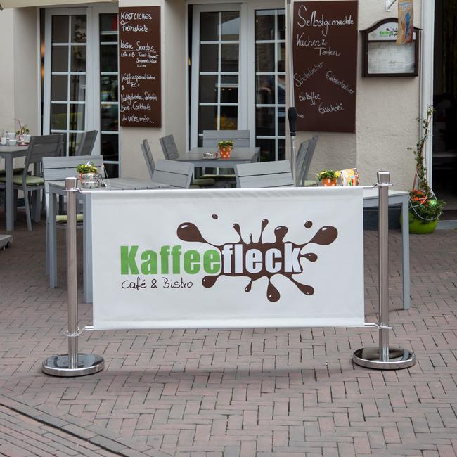 """Banner pentru sistem bariera """"Café"""""""
