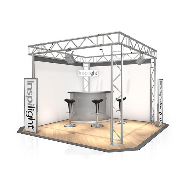Stand expo FD 32, 3.000 mm x 2.500 mm x 3.000 mm (l x H x A)