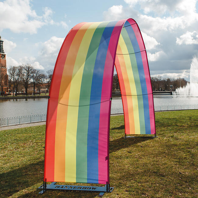 """Banner-Display """"Bannerbow"""""""