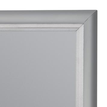 Rama, profil de 15 mm, cu colturi drepte, aluminiu anodizat
