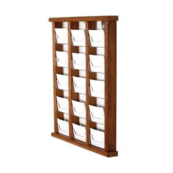 Suport pentru carti de vizita din lemn