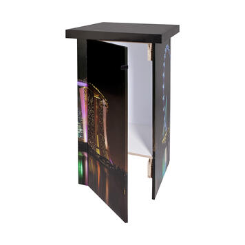 """Counter promotional """"Wabe Tower"""" - reciclabil"""