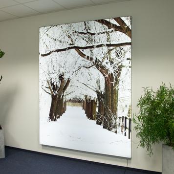 "Print digital ""Peisaj de iarna"""