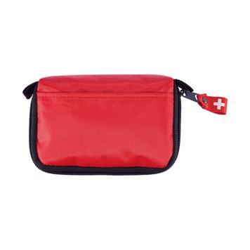 Trusa de prim ajutor în geantă roșie