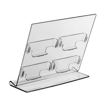 Display cu 4 compartimente  ''Olea'' pentru carti de vizita