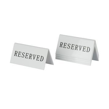 Display pentru masa ''Rezervat''