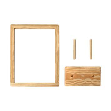 """Suport poster pentru expunere pe masa""""Kavero-Wood"""" din lemn"""