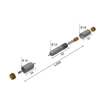 Set sistem de cabluri