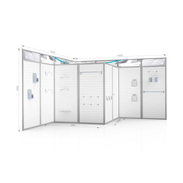 Sistem expo Flexi Slot ''Quattro''